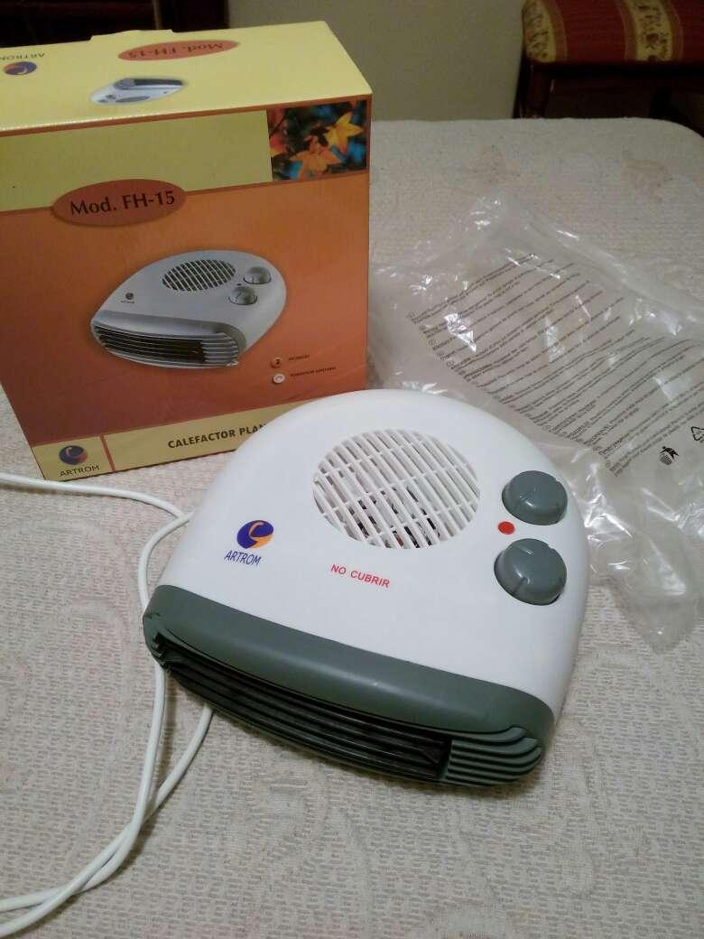 Imagen calefactor nuevo aire frío y caliente