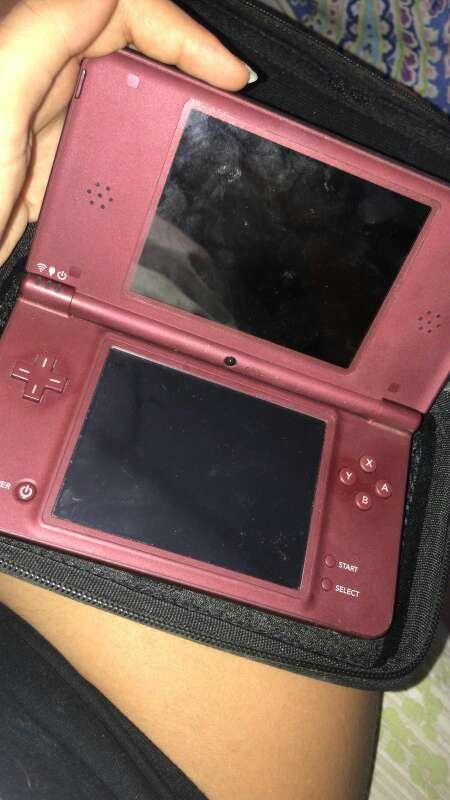 Imagen producto Nintendo DS XL rosa con juegos 2