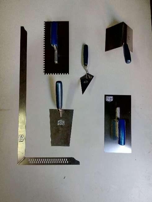 Imagen Herramientas y útiles de la construcción inoxidable 4000 unidades de todo tipo