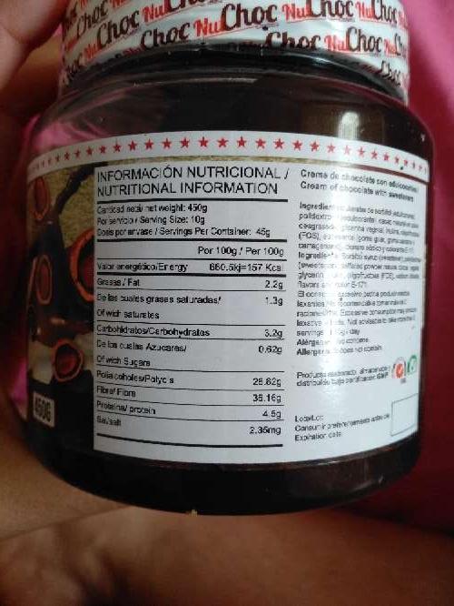 Imagen producto NutChox Max Cream Protein 450G 2