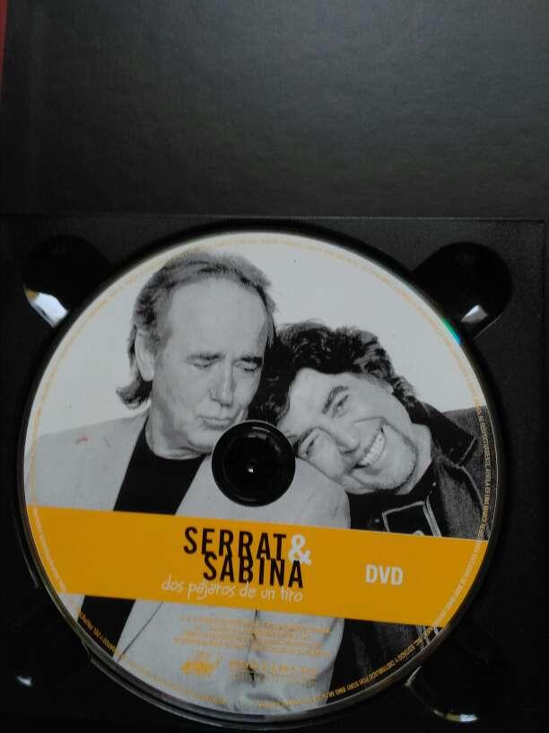 Imagen producto Cd y Dvd Serrat & Sabina  5