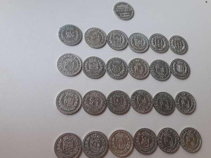Imagen producto 25 monidas de plata de region de murcia  2