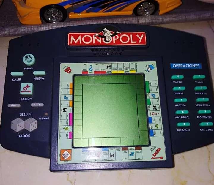 Imagen Maquinita electrónica, monopoly,
