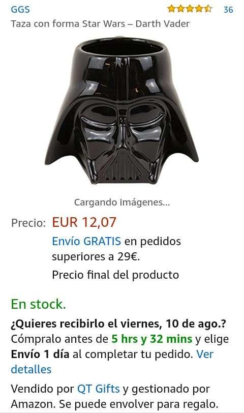 Imagen producto Taza de Cerámica Star Wars! 3