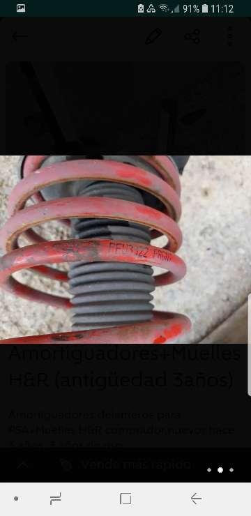 Imagen producto Amortiguadores + Muelles H&R (antigüedad 3 años) 3