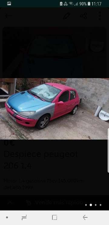 Imagen producto Despiece Peugeot 206 2
