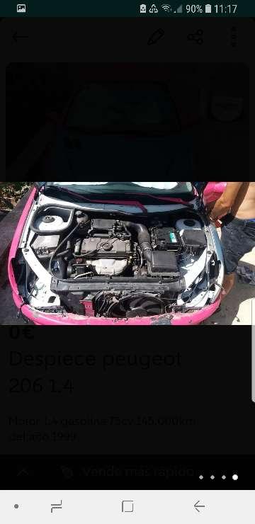 Imagen producto Despiece Peugeot 206 3