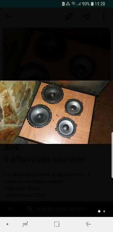 Imagen 4 altavoces Pioneer