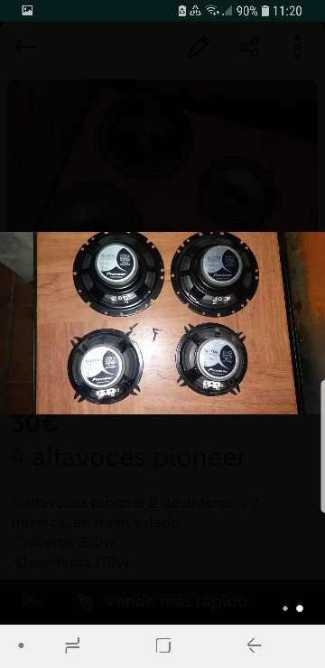 Imagen producto 4 altavoces Pioneer 2