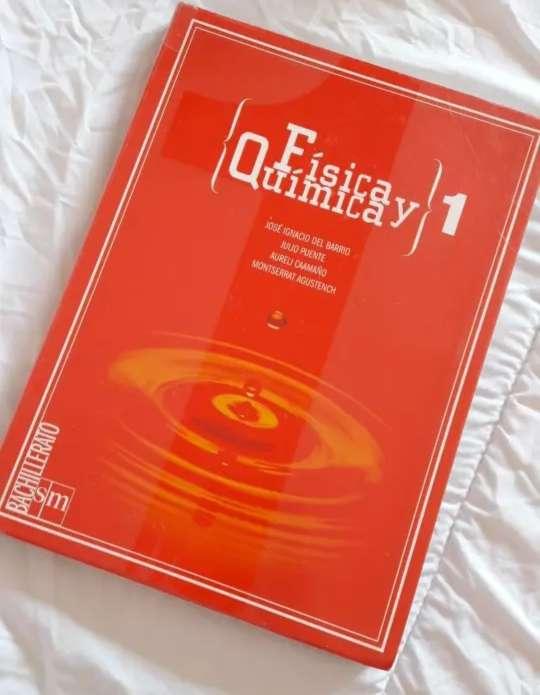 Imagen Libro 1°Bach Física y química SM