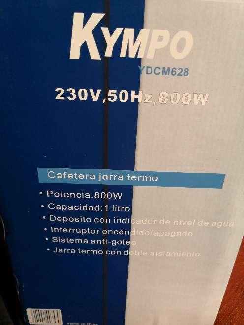 Imagen Cafetera jarra termo kympo