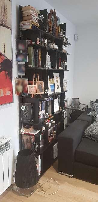 Imagen Estanteria/Librería de diseño negra