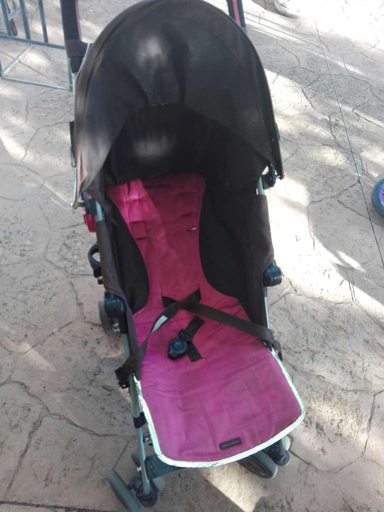 Imagen producto Silla de paseo McLaren y bici sin pedales 1