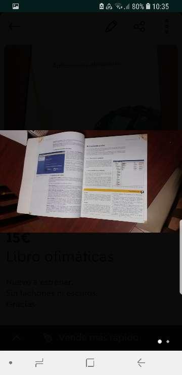 Imagen producto Libro Ofimatica 2