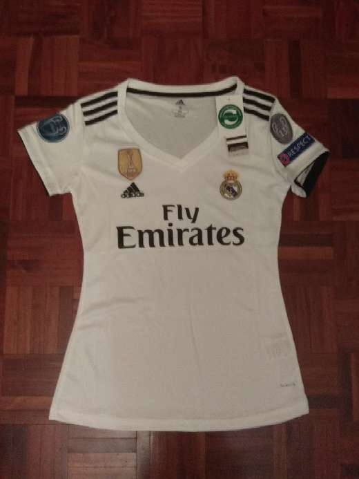 Imagen producto Camiseta chica del real Madrid 1