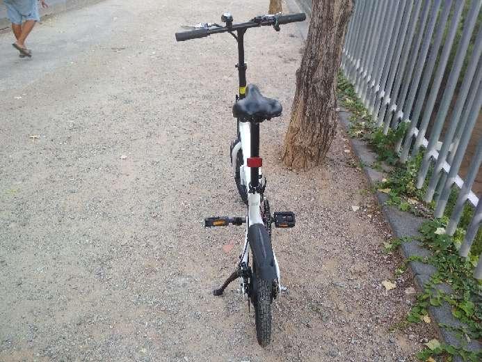 Imagen producto Bicicleta eléctrica plegable Smartgyro 5