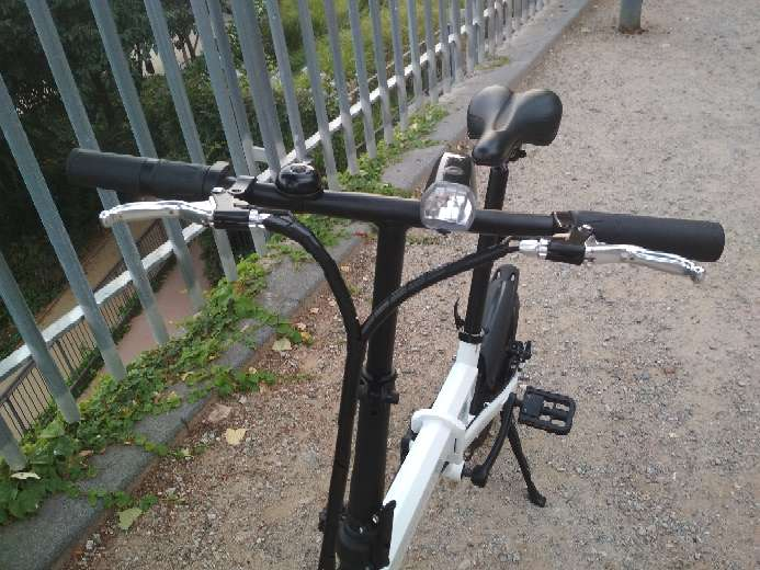 Imagen producto Bicicleta eléctrica plegable Smartgyro 4