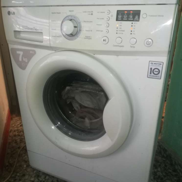 Imagen lavadora 7kgs