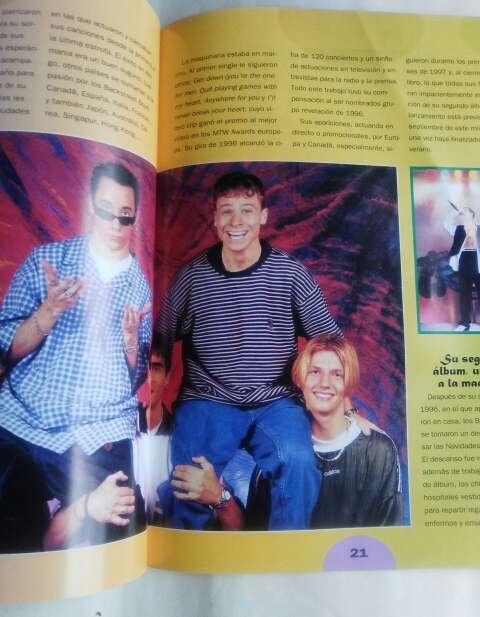 Imagen producto Historia de los Backstreet Boys. 3
