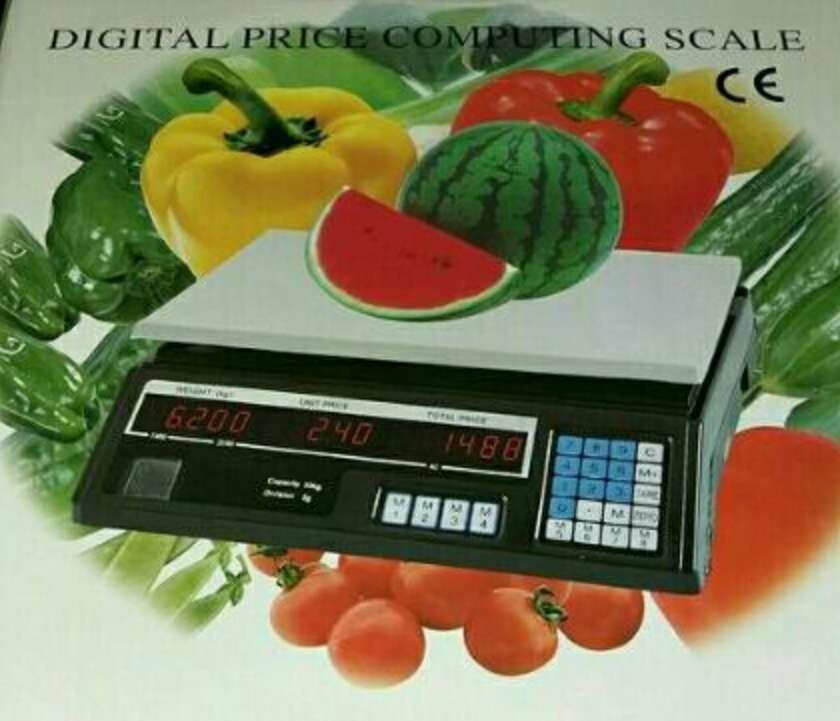 Imagen producto Bascula comercial 40kg portátil nueva 2