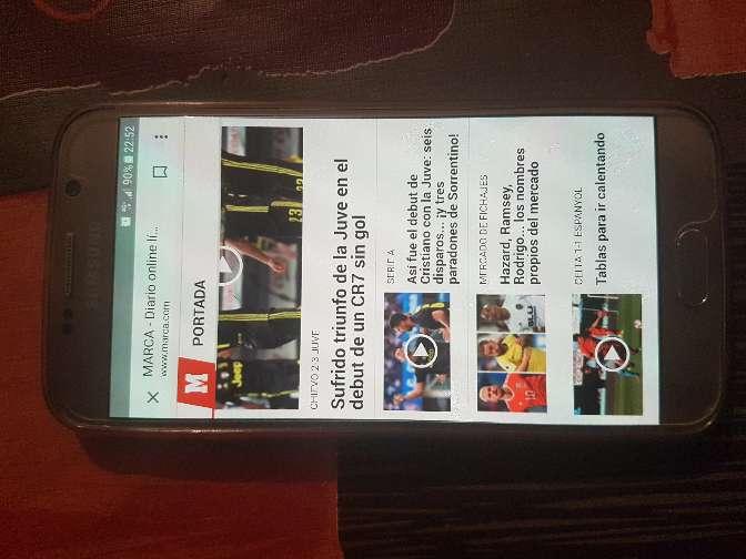 Imagen producto Original Samsung galaxy s6 libre como nuevo  2