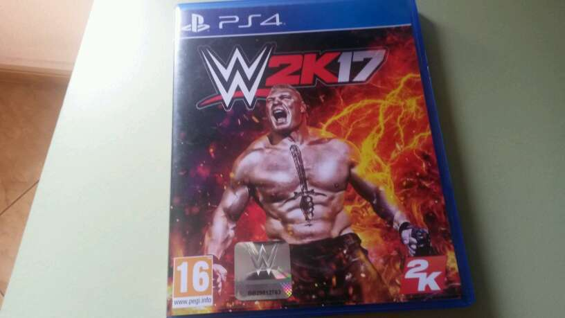 Imagen WWE 2K17 pelea
