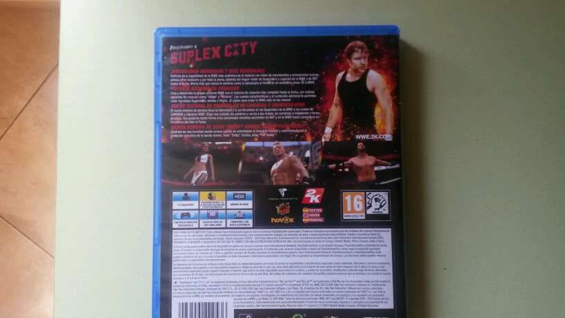 Imagen producto WWE 2K17 pelea 3