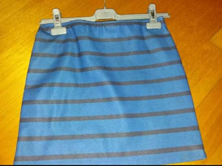 Imagen falda tubo rayas