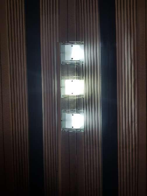 Imagen producto Conjunto lampara halogenas cristal 4