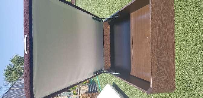 Imagen producto Se vende arcon de madera con colcion 3