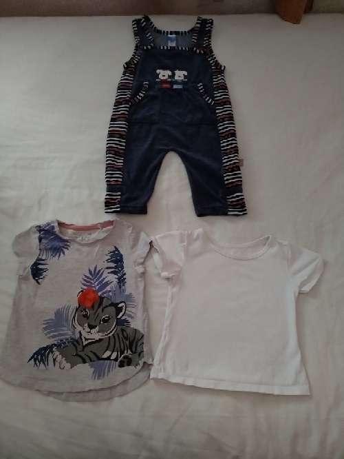 Imagen producto Vendo ropa de bebé. Precio a convenir. El pijama es de Toys'rus incluye 3 bodys y una mantita de cuna  2