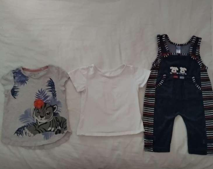 Imagen producto Vendo ropa de bebé. Precio a convenir. El pijama es de Toys'rus incluye 3 bodys y una mantita de cuna  3