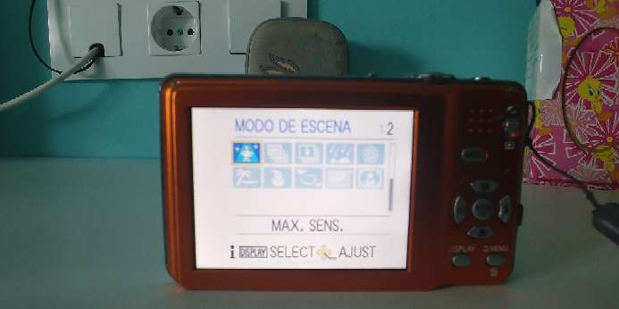 Imagen Cámara de fotos digital compacta