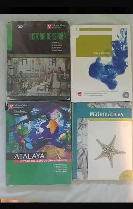 Imagen producto Libros de 1° y 2° de bachiller 4