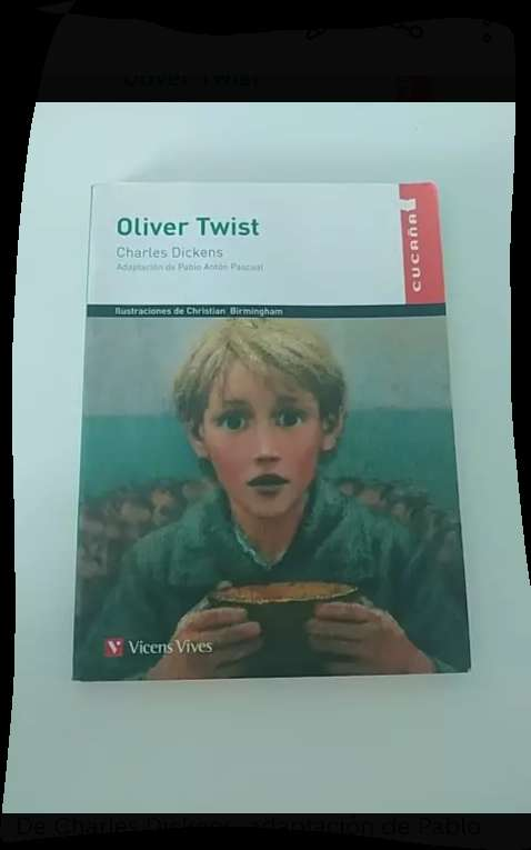 Imagen Libro de Lectura Oliver Twist.