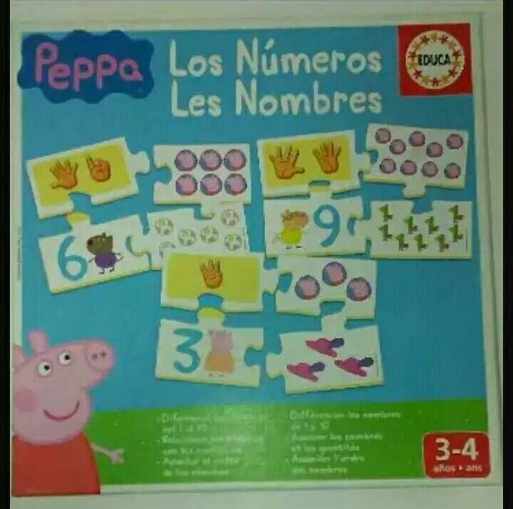 Imagen Peppa Pig Aprendo los Números