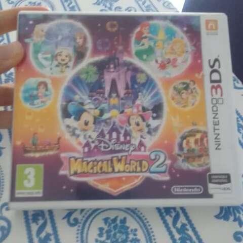 Imagen Disney magical world 2 3DS