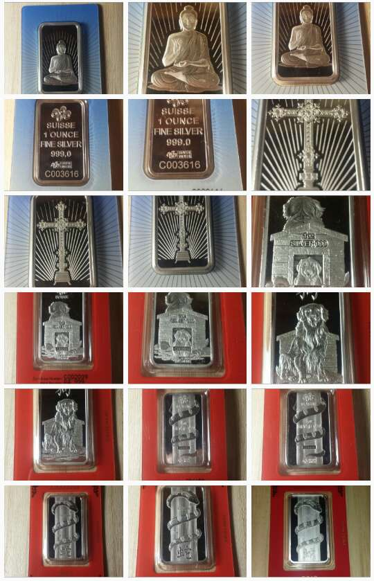 Imagen Onzas de plata pura 999 PAMP suisse