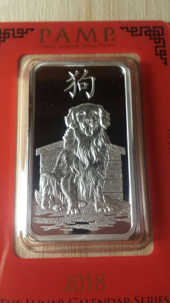 Imagen producto Onzas de plata pura 999 PAMP suisse  4