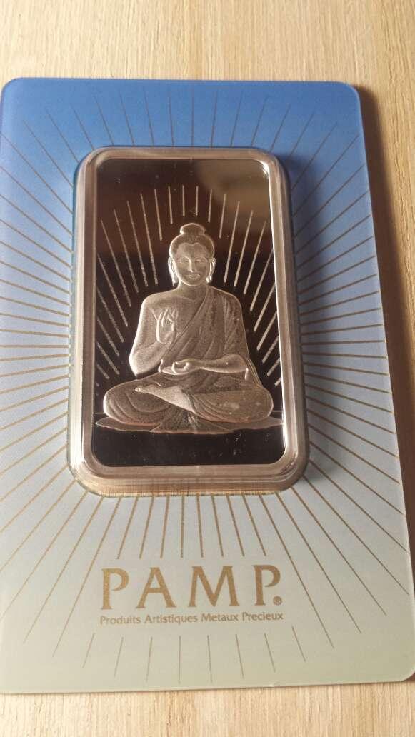 Imagen producto Onzas de plata pura 999 PAMP suisse  6
