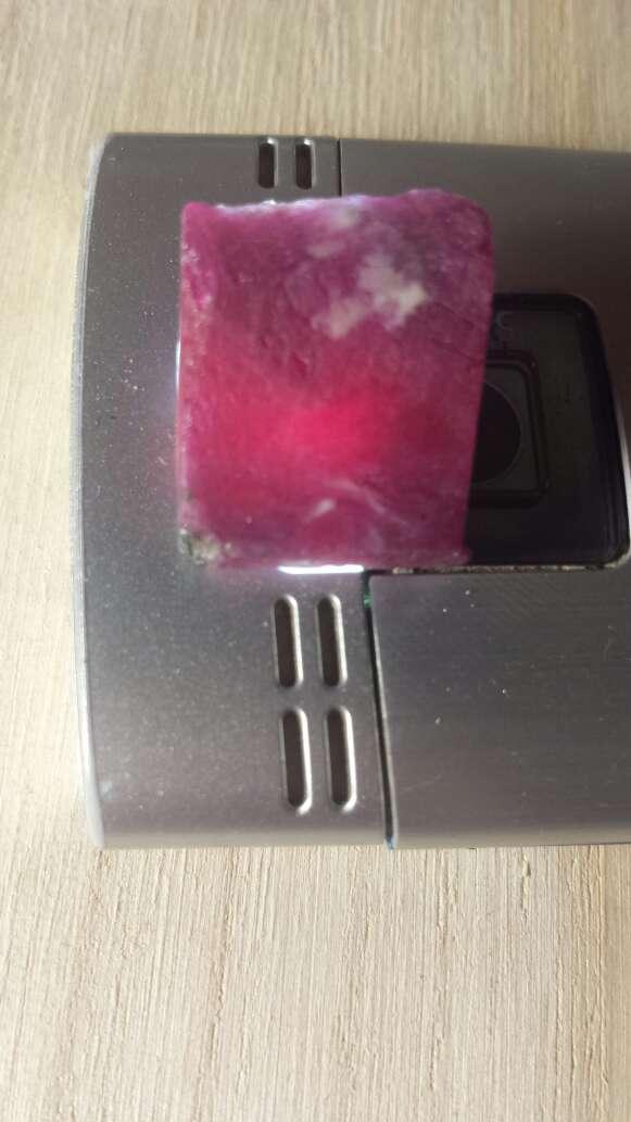 Imagen producto Rubí rojo sangre 100 % natural  4