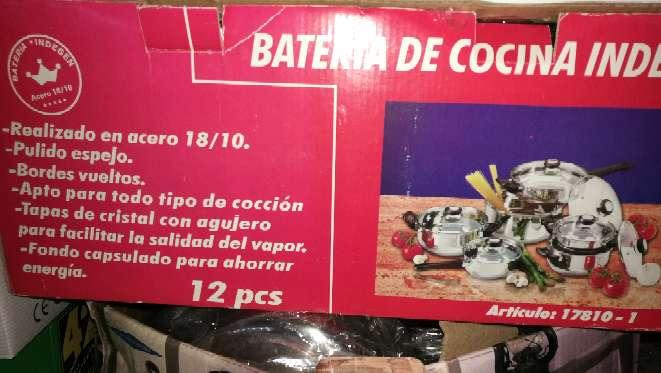 Imagen baterías de cocina