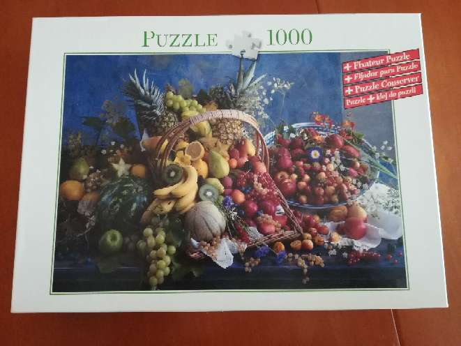 Imagen Puzzle de 1000 piezas ideal para cocina
