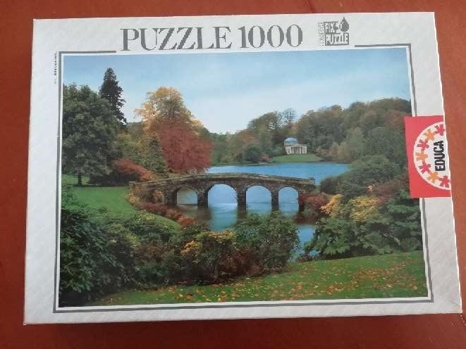 Imagen Puzzle de 1000 piezas de paisaje