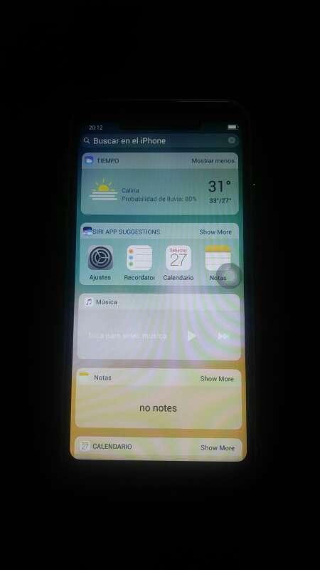 Imagen producto Vendo iPhone X 5