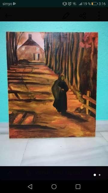 Imagen Cuadro lienzo copia de Van Gogh