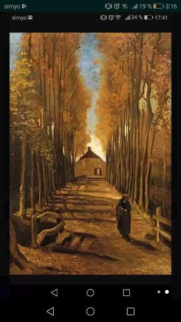 Imagen producto Cuadro lienzo copia de Van Gogh  2