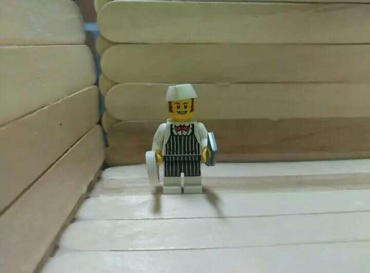 Imagen Figura Lego carnicero