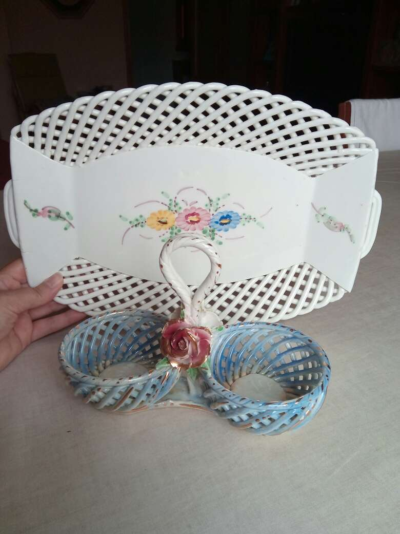 Imagen Bandeja porcelana antigua