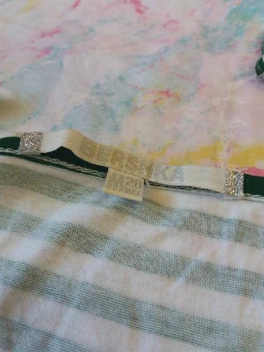 Imagen producto Camiseta de tirantes verde y blanca 3